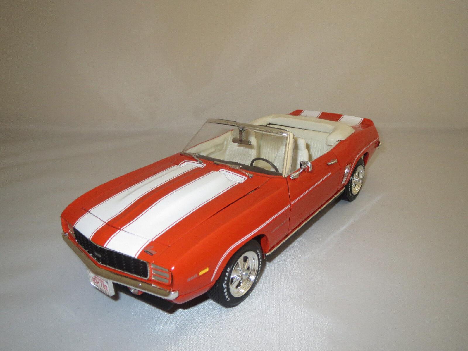 ERTL American Muscle CHEVROLET CAMARO Rally-Sport  1969  (Arancione) 1 18 senza VP.