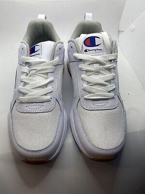 Champion Mens 9318 Classic White Shoes