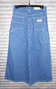 027b50130f Image is loading Stevenson-Long-Denim-Jean-Skirt-Carpenter-Modest-Skirt