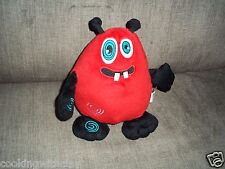 CUTE & SOFT HUGGABLE RED ALIEN MONSTER PLUSH DOLL FIGURE VOICE RECORDER