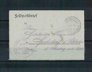 Lettre-Landsturm-Batl-Weimar-N-Grabsdorf-Schkoln-1916