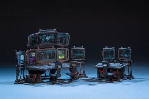 Dark Source War Field Battlefield Command Center Model 1:25 Toy