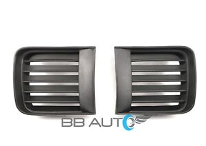 FRONT-BUMPER-FOG-LIGHT-LAMP-FINISHING-GRILLES-SET-COVER-FOR-1999-2004-PATHFINDER