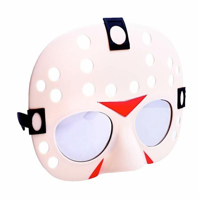 Halloween Jason Mask Cartoon.Sun Staches Jason Voorhees Shades Sunglasses Friday The 13th Halloween Killer