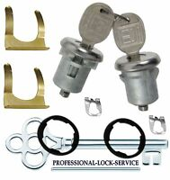 Chevy Lumina 4 Door 89-01 Door Lock Key Cylinder Pair Tumbler Barrel 2 Keys