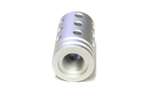 Ruger 10//22 Silver Muzzle Brake Threaded Bull Barrels Upgrade Part JWH Custom