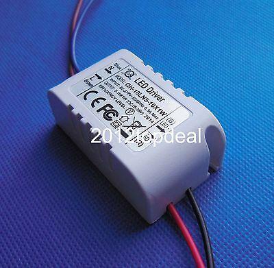 1pc 5-10x1 High Power LED Driver AC 85-277V to DC15-36V 300mA for 5-10pc x1W led