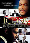 Icons in Black History: Tyler Perry/Barack Obama (DVD, 2015, 2-Disc Set)