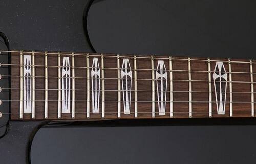 Sabbath Electric Funeral Iommi Coffin Cross MOP Vinyl decals for GUITAR /& BASS