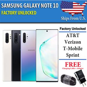 Samsung-Note-10-256GB-UNLOCKED-CDMA-GSM-Verizon-AT-amp-T-T-Mobile-Sprint