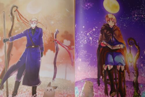 "Hetalia Axis Powers Art book 2 /""Artesole/"" JAPAN Hidekaz Himaruya"