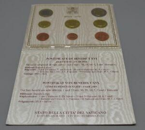 VATICAN 2009 : BU 1 cent à 2 euro. Complet, officiel