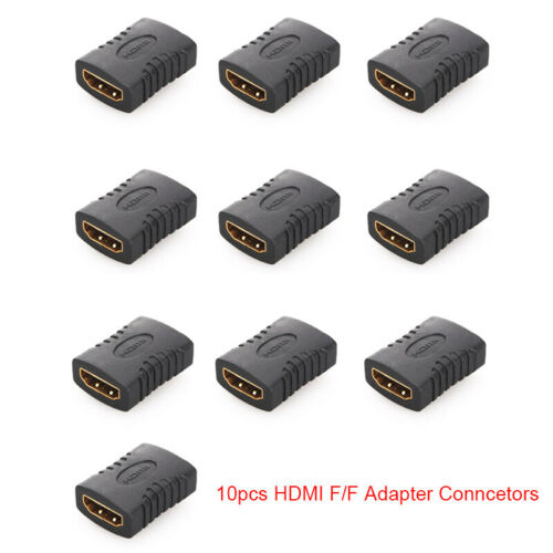 1//5//10pcs Universal HDMI Female to HDMI Female Adapter Connector F//F Extender
