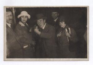 CARTE-PHOTO-Tir-photographique-Surrealisme-Fete-Foraine-Tireur-Vers-1930-Vintage
