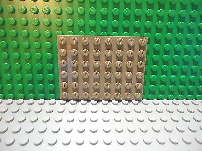 Lego 1 Dark Tan 6x8 base plate