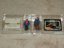 Vintage Star Wars 1979 AFA 80 WALRUS MAN HAMMERHEAD SEARS CATALOG MAILER 2 PACK!