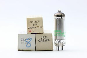 0A2 / OA2 TUBE.  0A2WA - 150C2 TUBE. MIXED U.S. BRAND TUBE. 1 PC. NOS/NIB. RC63.