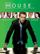 House M.D. Season Four 4 (DVD, 4 Disc Set)                                    c2