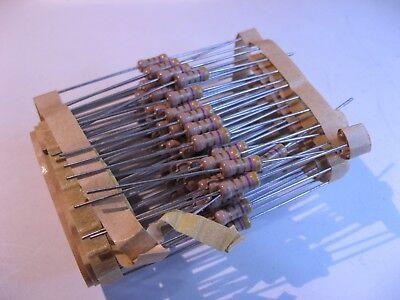 Carbon Film Resistor de 1//2 vatios 4700 ohmios 4.7K 4K7 5/% Nuevo Viejo Stock Qty 100