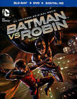 Batman vs. Robin (Blu-ray/DVD, 2015, 2-Disc Set, Includes Digital Copy UltraViolet)