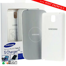 Genuine Original Samsung GT SM-N9000 Galaxy Note 3 S Charger Kit Pad+Cover Case