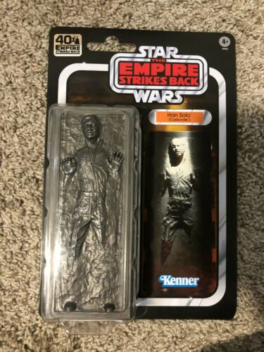 Star Wars The Black Series 6 inch Han solo Carbonite 40th Anniversary IN HAND