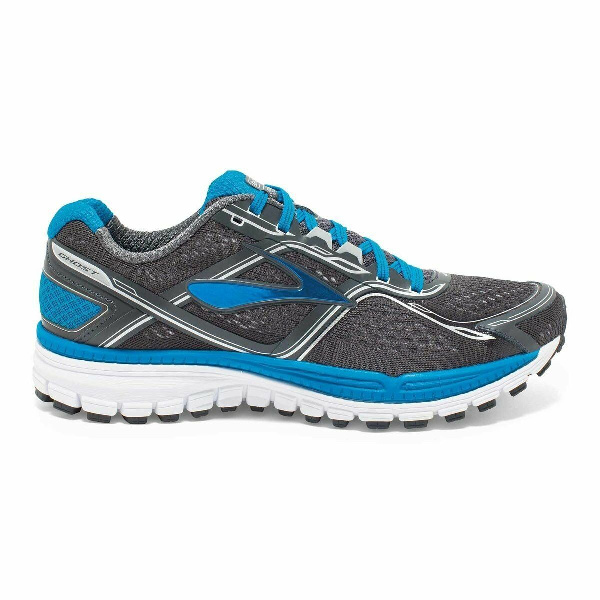 Brooks Ghost 8 Dark Grey bluee White D Width Men Running shoes 1101981D060