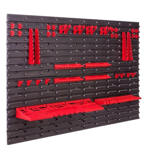 Storage System Wall Shelf 115x78 cm Tool Holders Bins Shelf sichtlagerkä