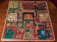 Legend of Zelda A Link to the Past DarkWorld Hyrule map game poster Nintendo