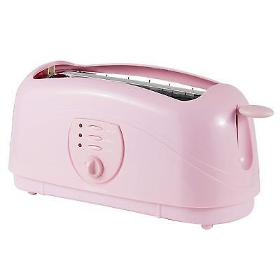 Ernstig Signature Baby Pink 4 Slice Toaster 2kw Breakfast Appliance Kitchen Dinning Verlichten Van Warmte En Zonnesteek
