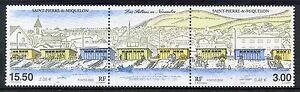STAMP-TIMBRE-SAINT-PIERRE-ET-MIQUELON-NEUF-N-724-725-SALINES-COTE-9-50