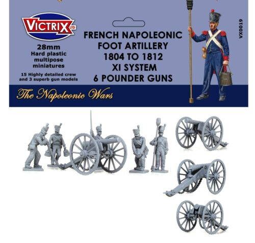 French Napoleonic Artillery 1804-1812 XI System 28mm Victrix