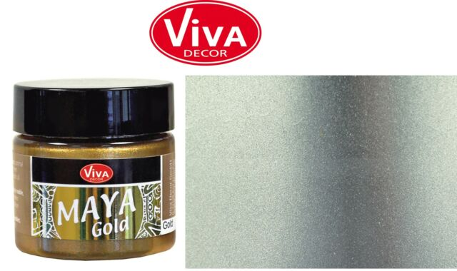 MAYA GOLD  50ml  von Viva Decor  Farbauswahl aus 29 Farben (100ml=11,90 €)