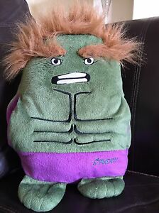 Spuddy-Heroes-and-Villains-Couch-Potatoe-Remote-amp-snack-Holder-Green-Hulk-Cool