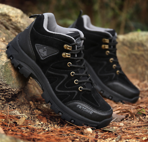 NEW Men's Hiking shoes Outdoor Trail Trekking Sneakers Breathable Climbing shoes