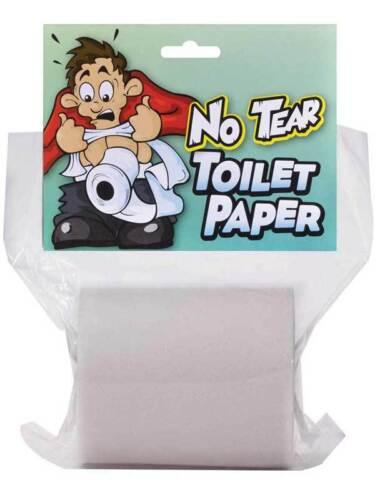 Faux pas de déchirure du papier toilette rip résistant ressemble et se sent real blagues gags farces