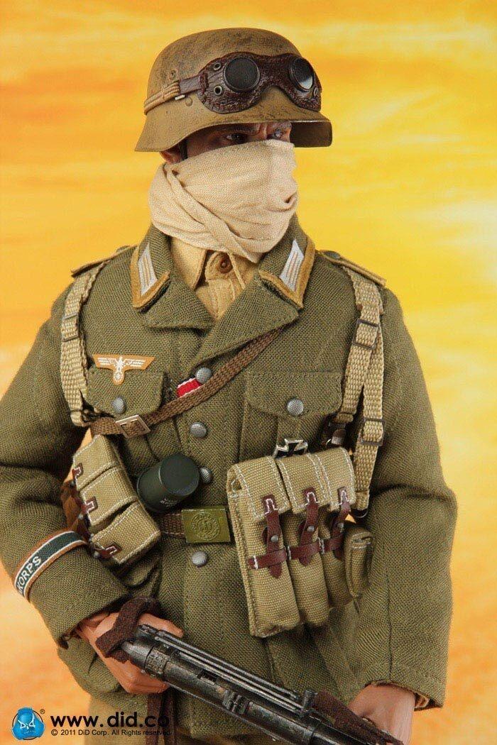 Action Figure 1 6 DID Luca DAK Afrika WH Korps Libya 1941 - Dragon Dam Toys 3R