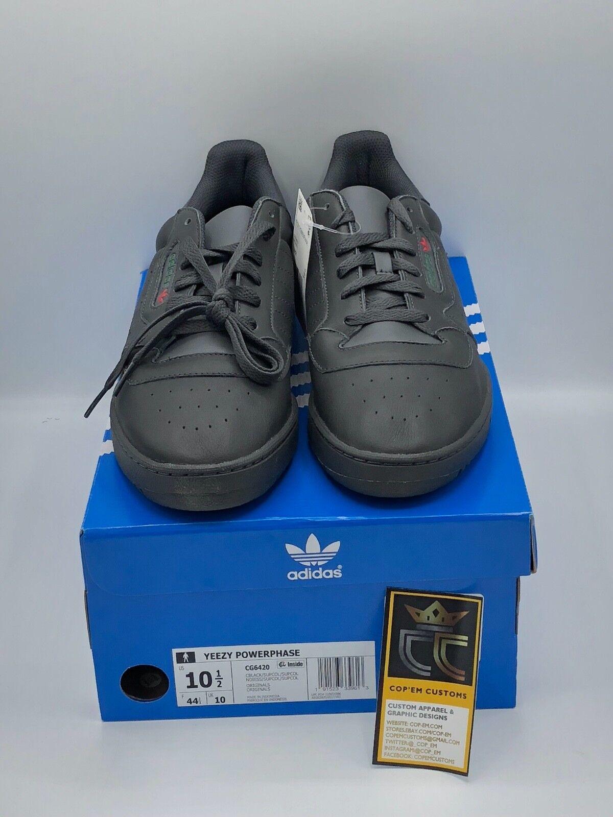 Adidas Yeezy powerphase Calabasas' core marca Negro 'zapatillas zapatos cg64nueva marca core d1bba3