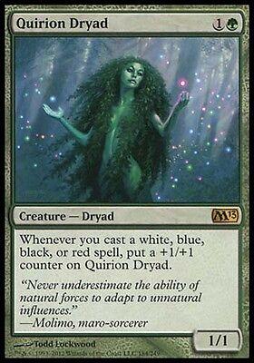 1x Quirion Dryad M13 MtG Magic Green Rare 1 x1 Card Cards