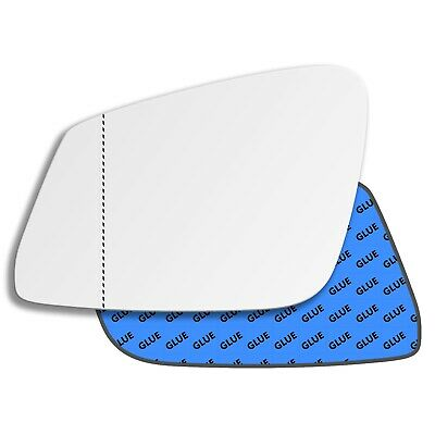 For VW Jetta 2011-2017 Right Driver side Aspheric wing door mirror glass