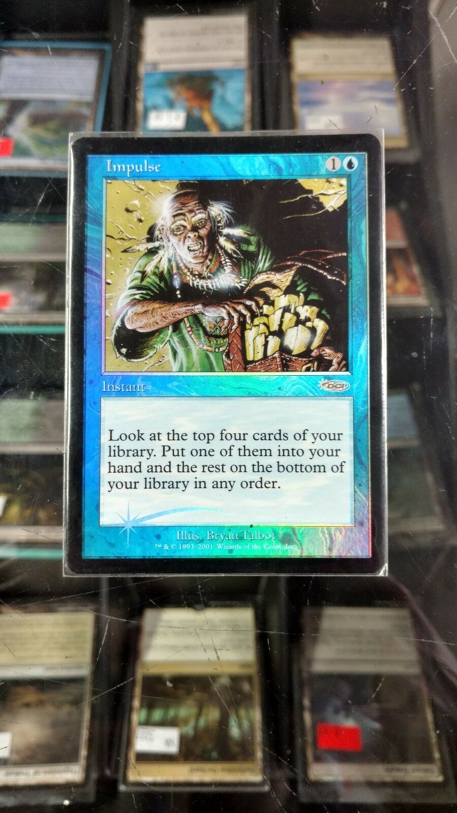 Impulse - FOIL- Judge Promo - MINT - FREE US SHIPPING