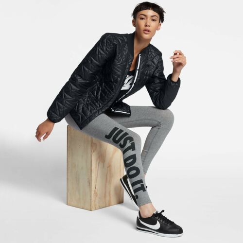donna Nike 010 da Black Sportswear per Cappotto imbottita giacca 854747 Small xnqOHwIa