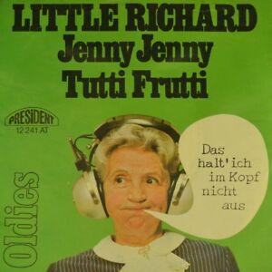 7-034-LITTLE-RICHARD-Jenny-Jenny-Tutti-Frutti-PRESIDENT-OLDIES-Rock-039-n-039-Roll-1957