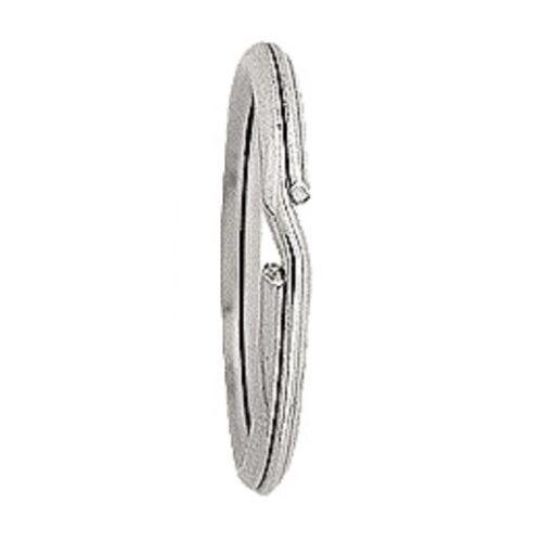 Split Ring 1x 925 STERLING SILVER 26mm Diameter Key Ring Keyring