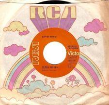 DAVID BOWIE Rebel Rebel Vinyl Record 7 Inch US RCA Victor LPBO5009 1974