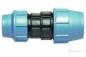 Reducing-Coupling-Straight-Compression-Fitting-Blue-Water-MDPE-Alkathene-Pipe
