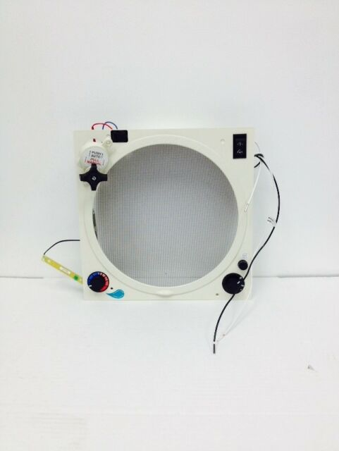 803359 Fantastic Vent White Upgrade Kit With Thermostat And Rain Sensor