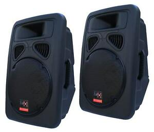 E-Lektron-JP38-DJ-PA-LAUTSPRECHER-BOXEN-PAAR-Passiv-38cm-15-034-Basslautsprecher