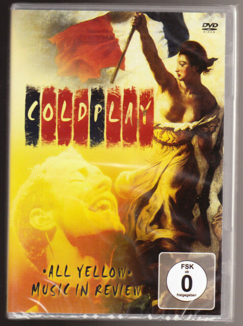 Coldplay - All Yellow (DVD, 2008)E0492