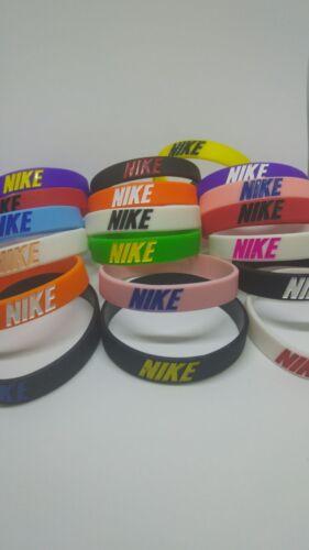 Combinación de silicona deportivos Nike Muñequera Brazalete